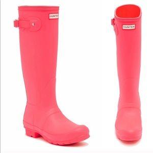 Original Matte Hunter Boots - Bright Coral